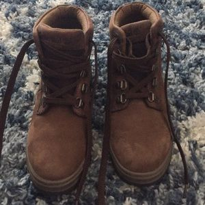 Womens Timberland Nubuck Leather Boots